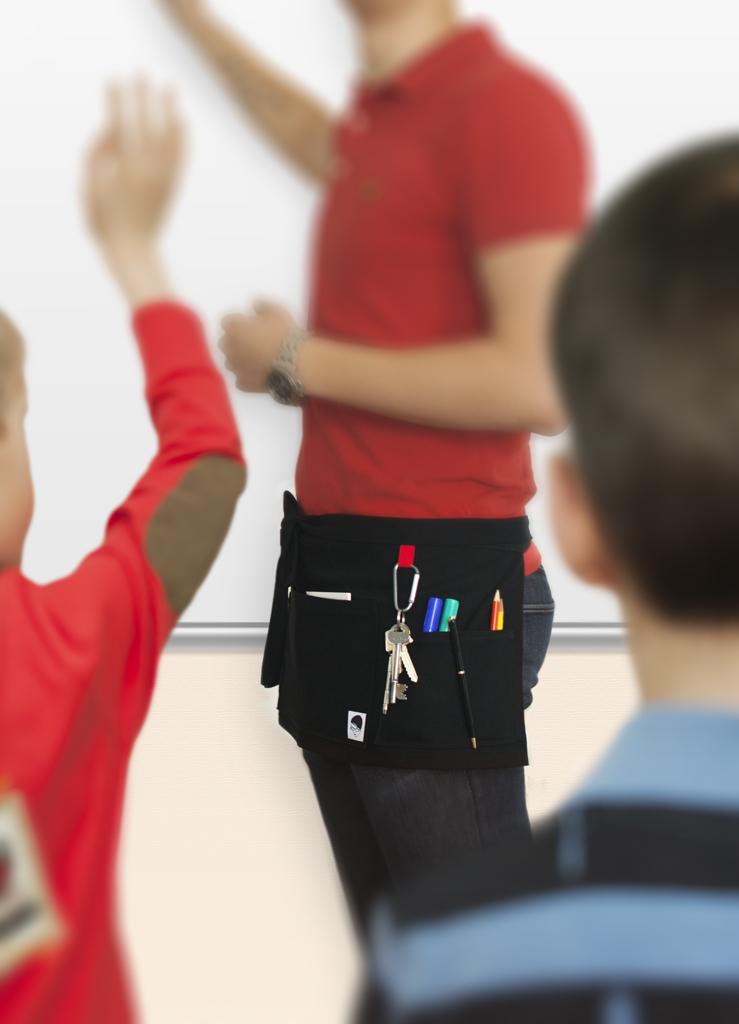 smart förkläde lärare